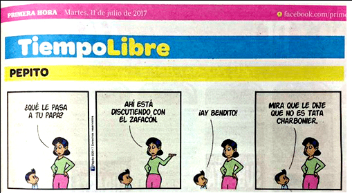 Puerto Rican Newspaper Cancels PEPITO Comic for Comparing Politician to Garbage Can